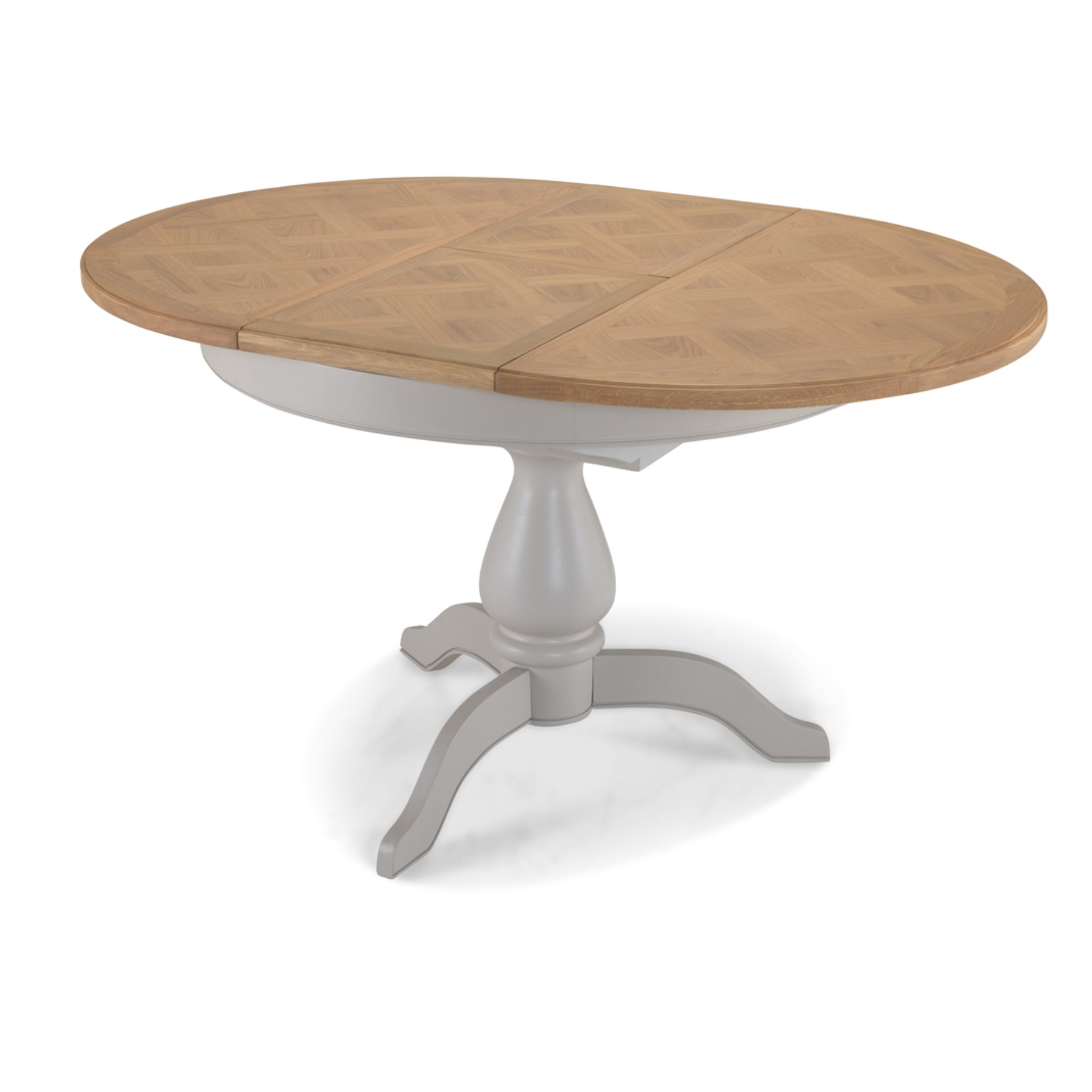 Sorrento Oval Extending Dining Table
