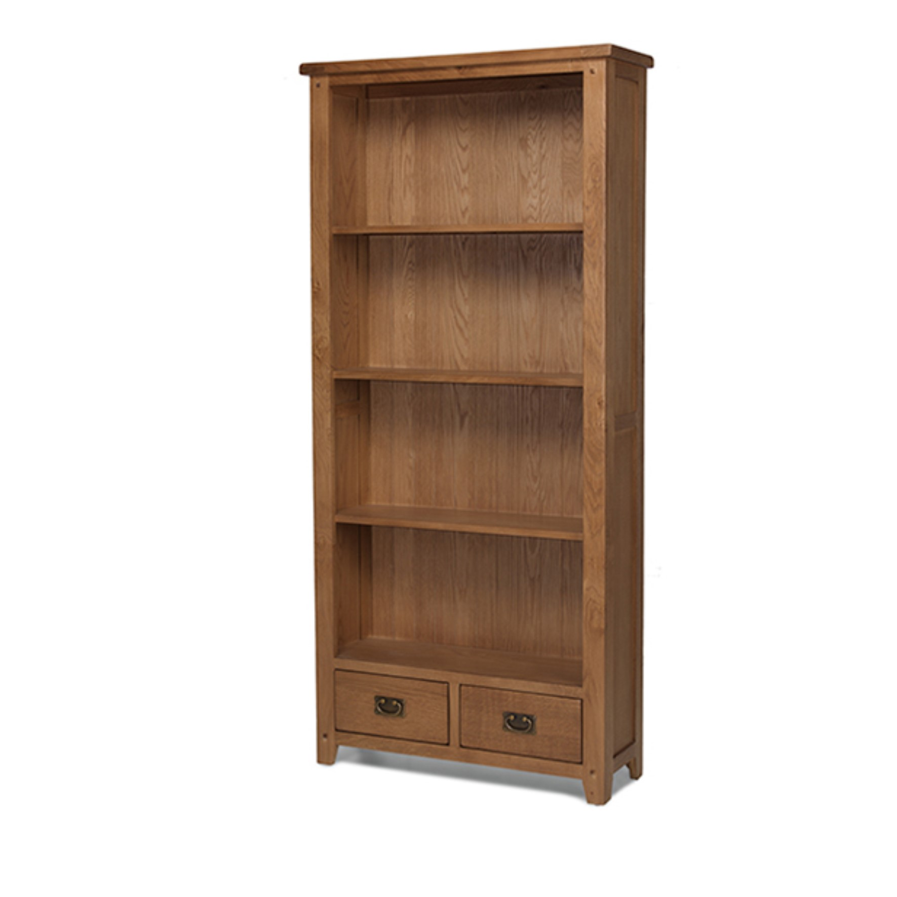 Vancouver Tall Bookcase With Drawers