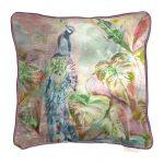 Voyage Ebba Coral Velvet Cushion