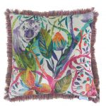 Voyage Rukmini Velvet Cushion