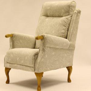 Morocco Queen Anne Chair