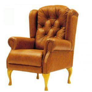 Amy Leather Upholstered Chair