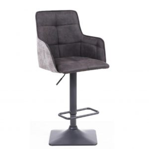 Orion Suede Bar Stool