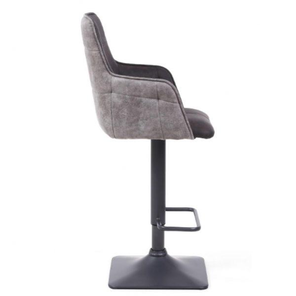suede bar stool