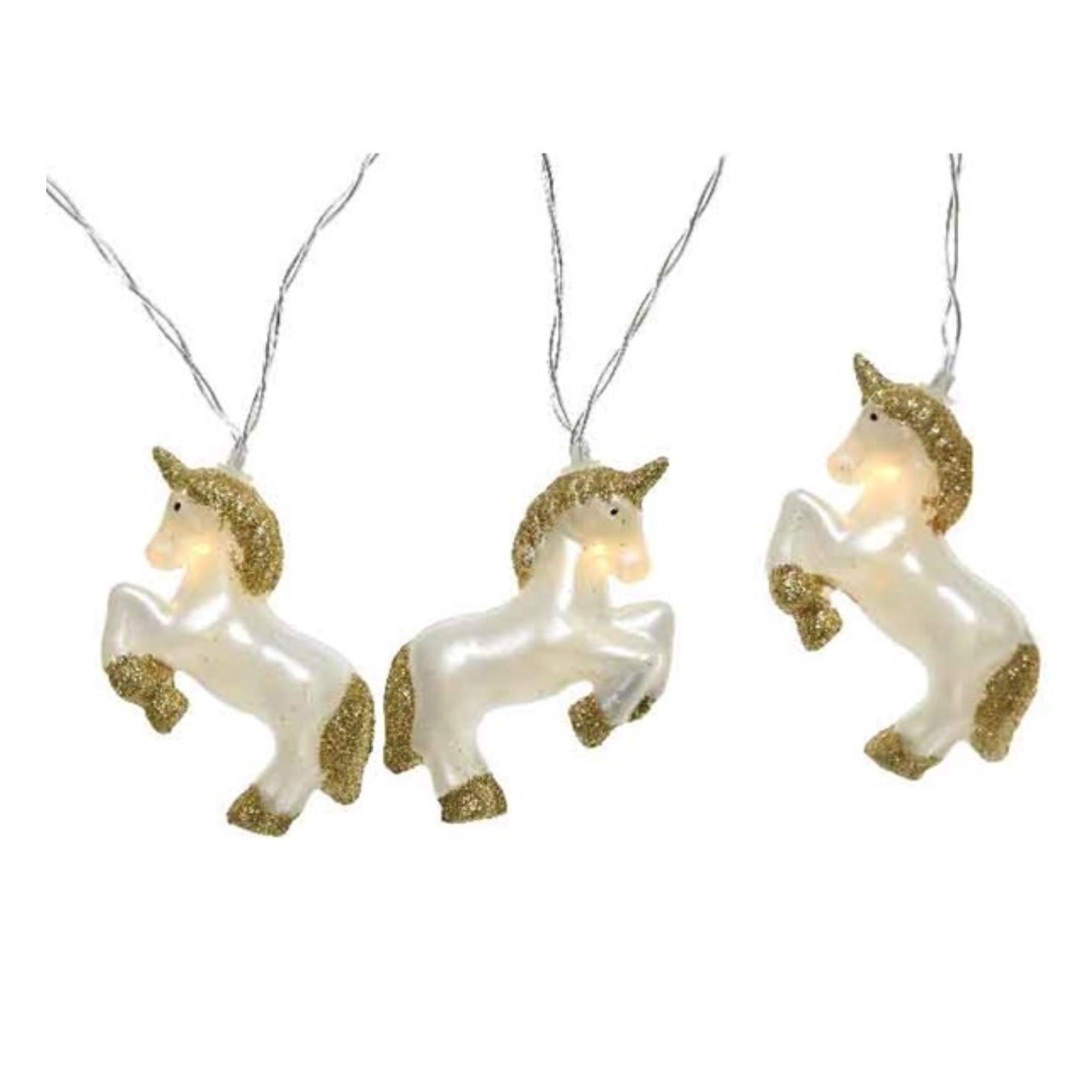 LED Unicorn String Lights