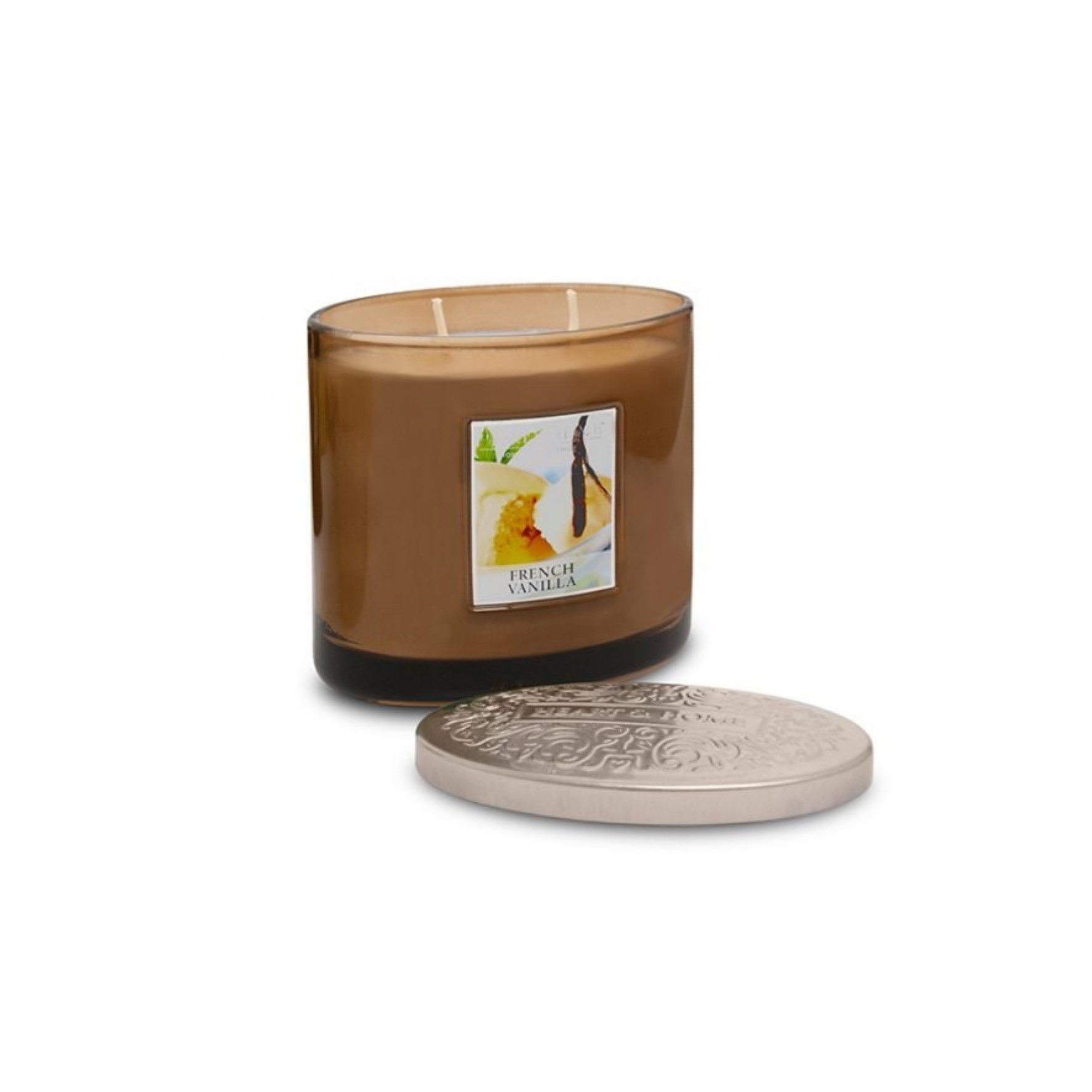 French Vanilla 2 Wick Candle