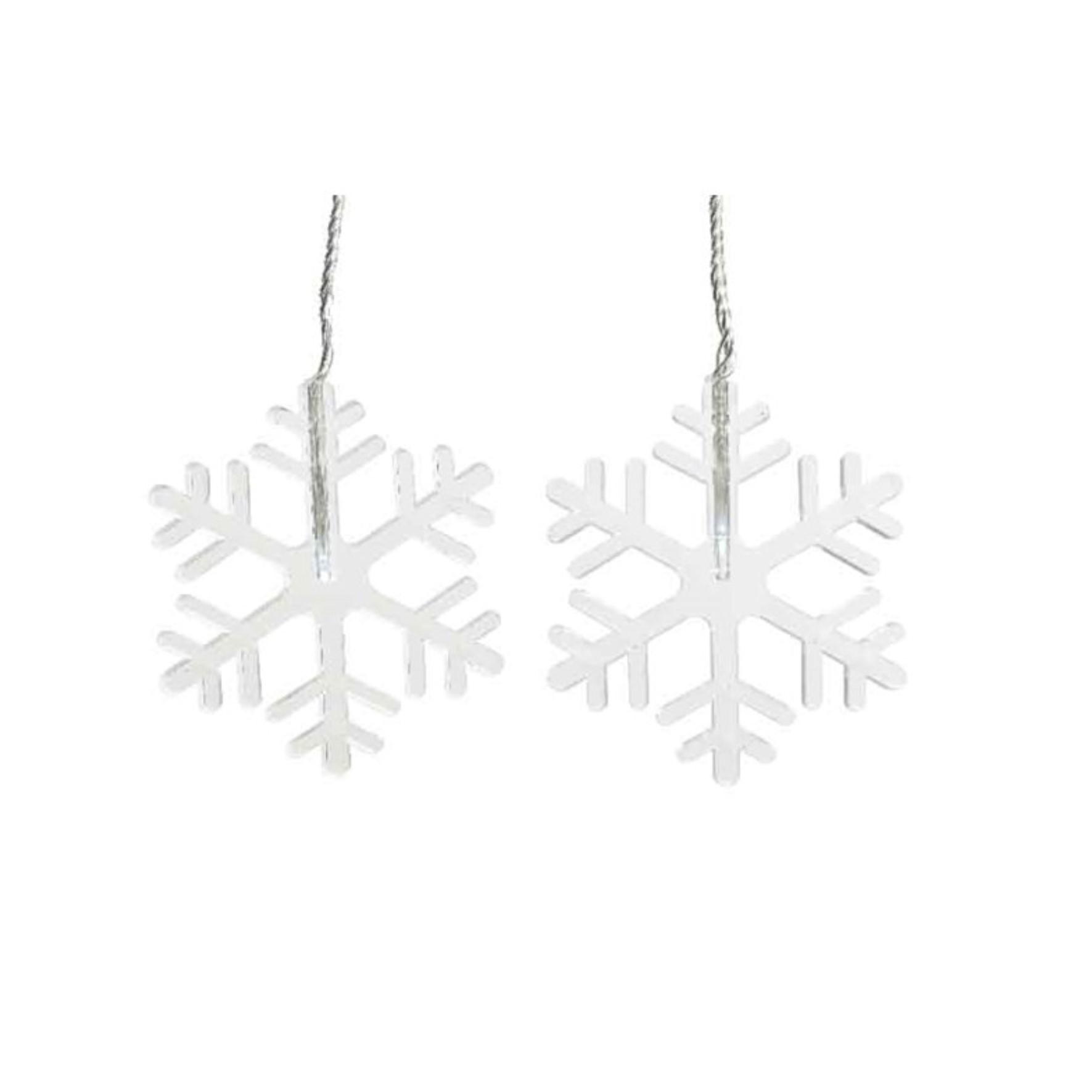 LED Snowflake Window Lights