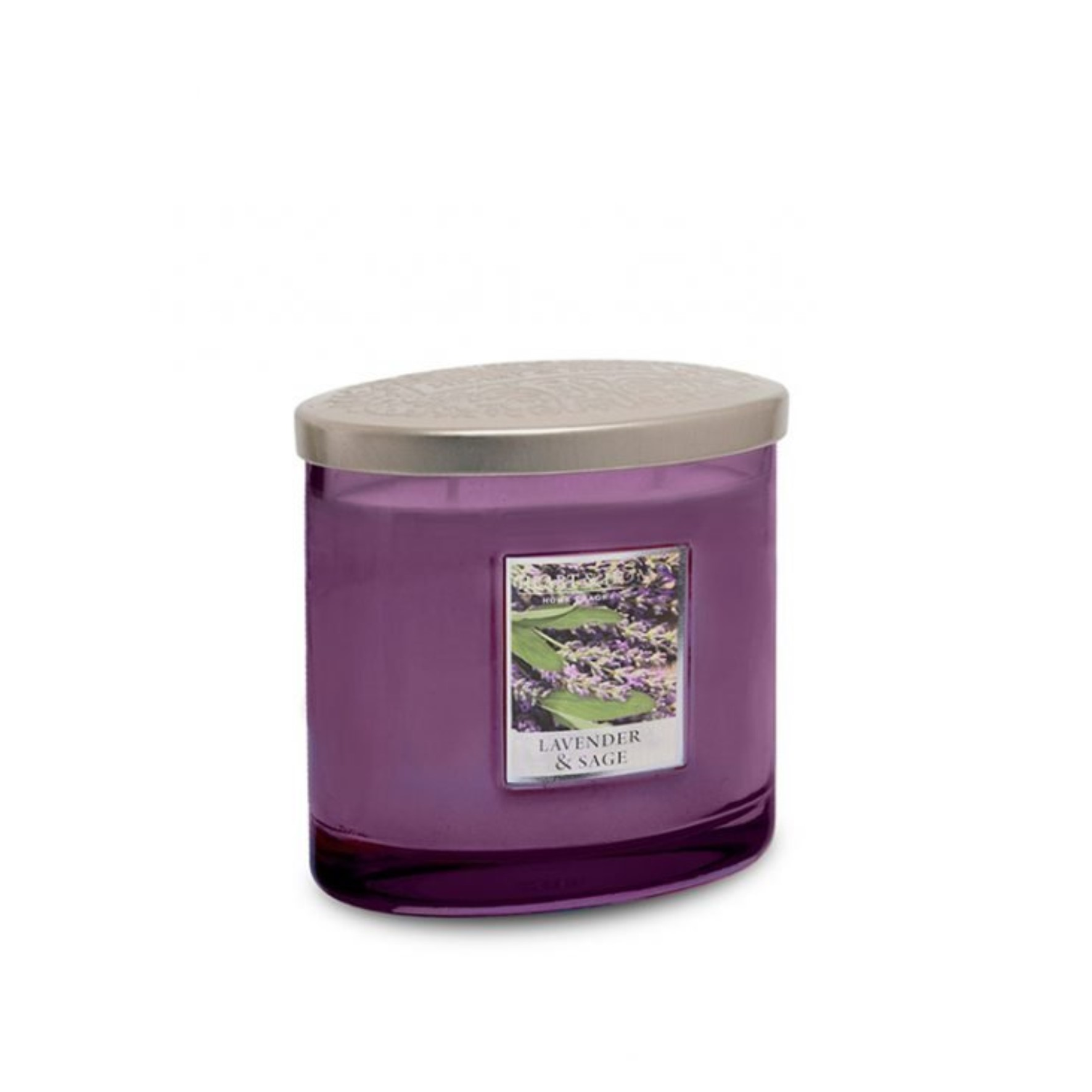 Lavender & Sage 2 Wick Candle