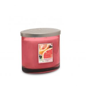 Pink Grapefruit & Cassis 2 Wick Candle