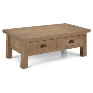 Santa Fe Coffee Table With Drawers