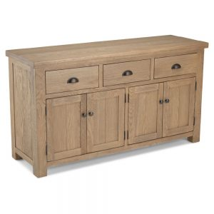 Santa Fe Large 3 Drawer 4 Door Sideboard