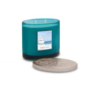Simply Spa 2 Wick Candle