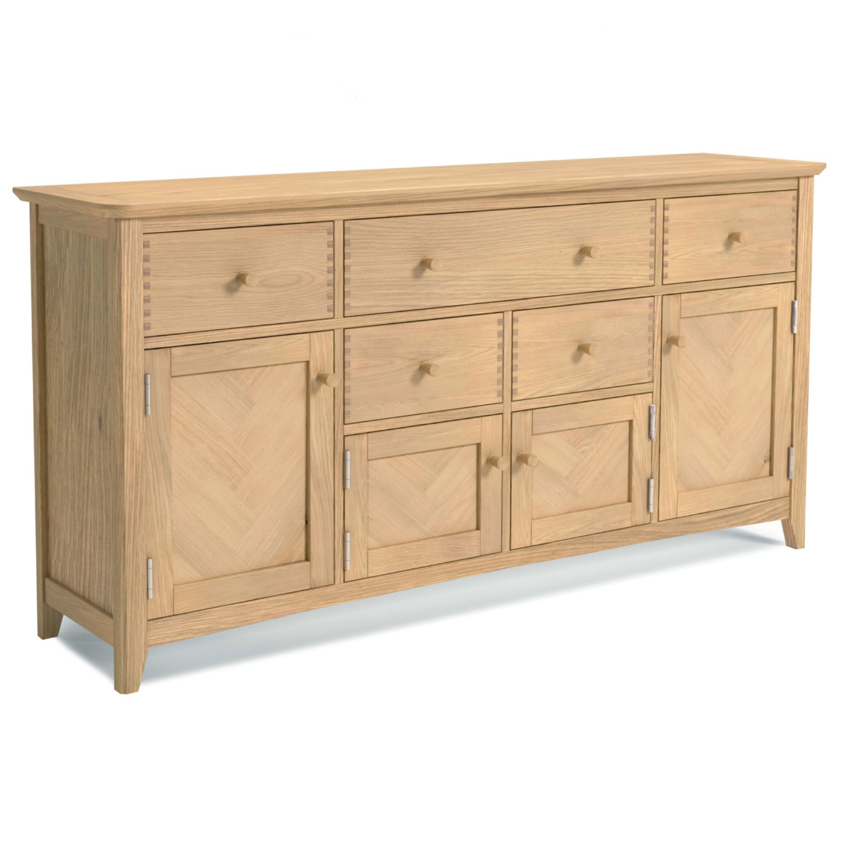 Chicago Oak Extra Large Sideboard