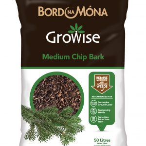 Growise Medium Chipped Bark 50Ltr