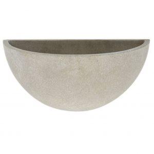 Cement Bowl Wall Pot