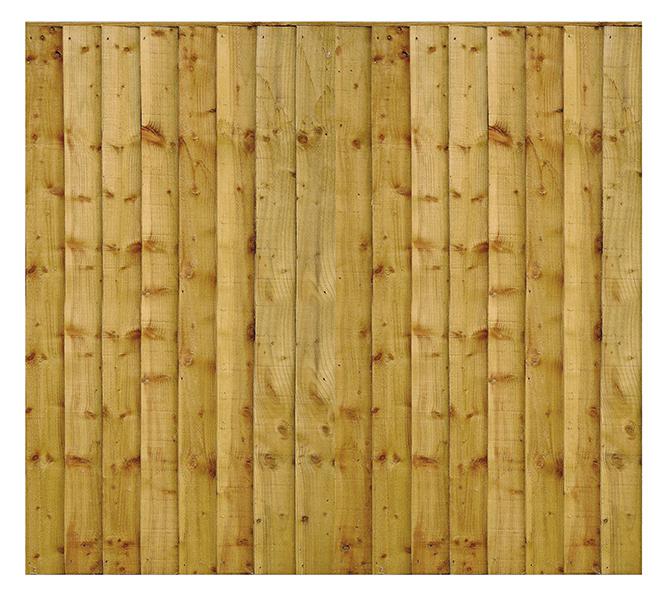 Vertical Lap Fence Panels 2