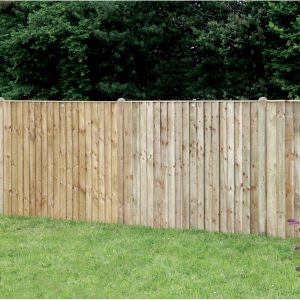 Vertical Lap Fence Panels