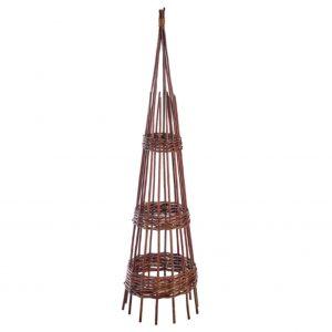 1.5m Willow Hoop Obelisk