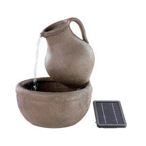Poly Jar Solar Fountain