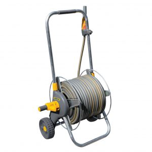 Assembled Metal Cart (60m) with hose