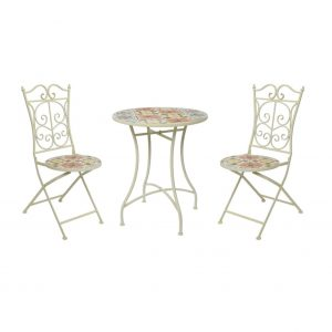 Beaufort Mosaic Table and Chairs 1