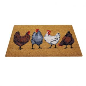 Chicken Coir Door Mat