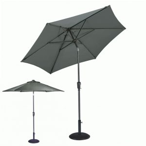 Riviera 2.5m Grey Parasol