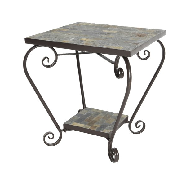 Stuttgart Outdoor Mosaic Side Table