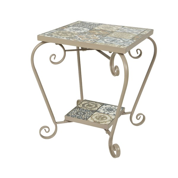 Toulouse Outdoor Mosaic Side Table