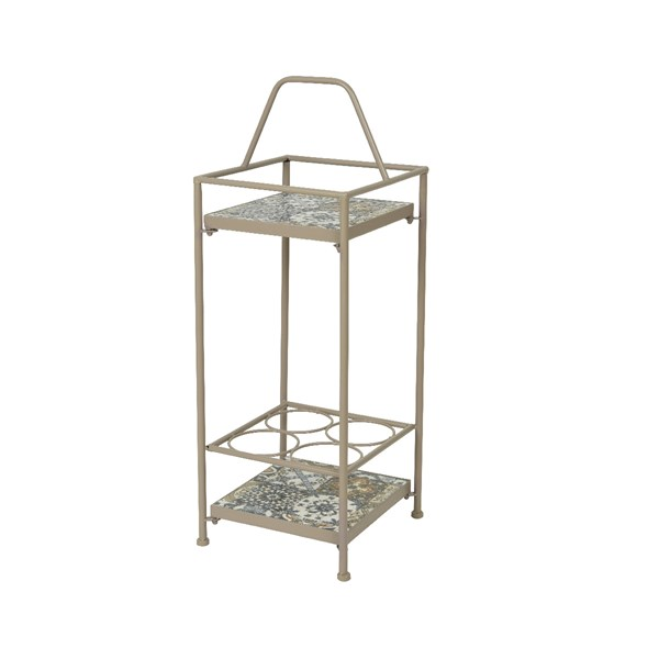 Toulouse Outdoor Mosaic Winerack