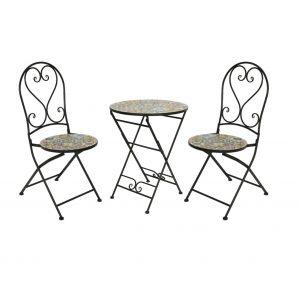 braga mosiac table and chairs 1