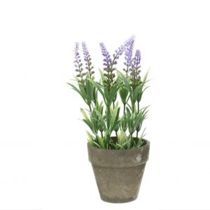 Artificial Lavender Pot