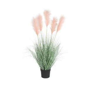 Artificial Pampas Grass in Pot