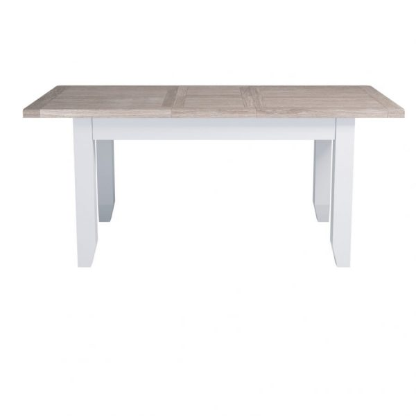 Small Chalked Oak Extending Dining Table