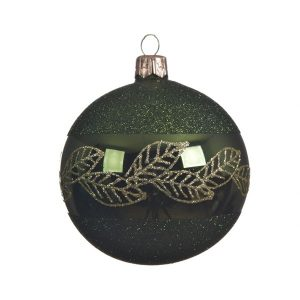 Bauble with Leaf Border