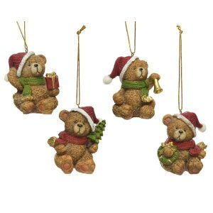 Assorted Bear Baubles