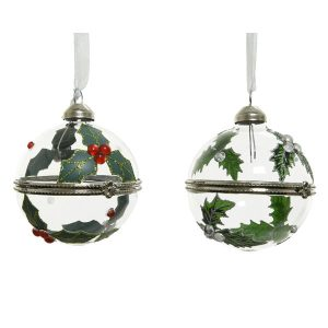 Assorted Holly Baubles
