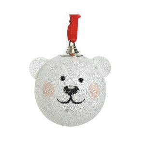 Hanging White Bear