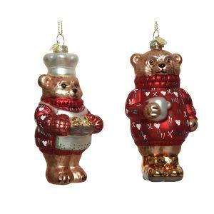 Bear Figure Baubles