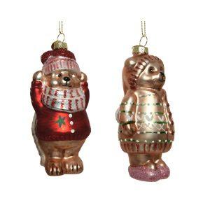 Bear Figurine Baubles