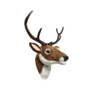 Deer Head with Antlers