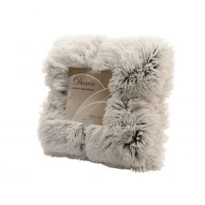 Faux Fur Velvet Throw