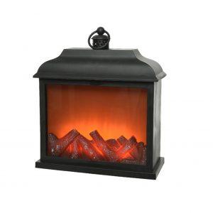 Large LED Plastic Fireplace