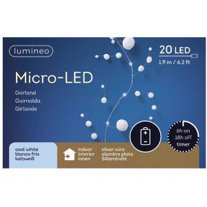 Micro LED Snow Garland