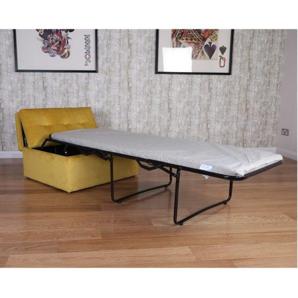 mustard sofa bed