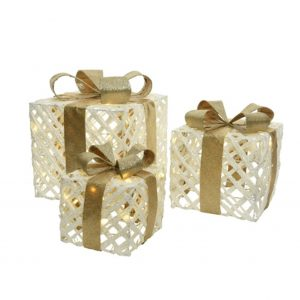 LED Wire Gift Boxes
