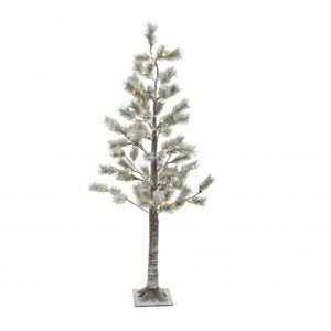 LED Snowy Pine Tree
