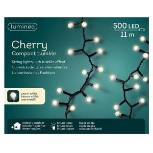 LED Compact Twinkle Cherry Lights