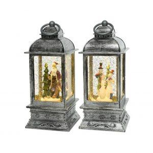 LED Lantern with Scenery