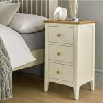 3 draw bedside table